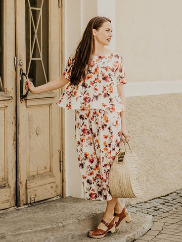 Tencel culottes FULL BLOOM