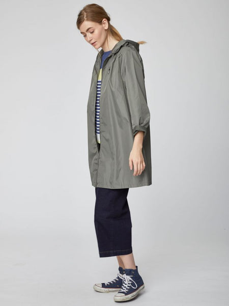 Recycled PET rain jacket ANTONIA