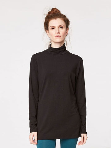 Bamboo turtle neck sweater BASE