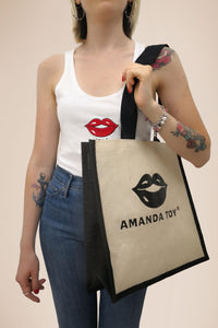 Shopper Black Lips