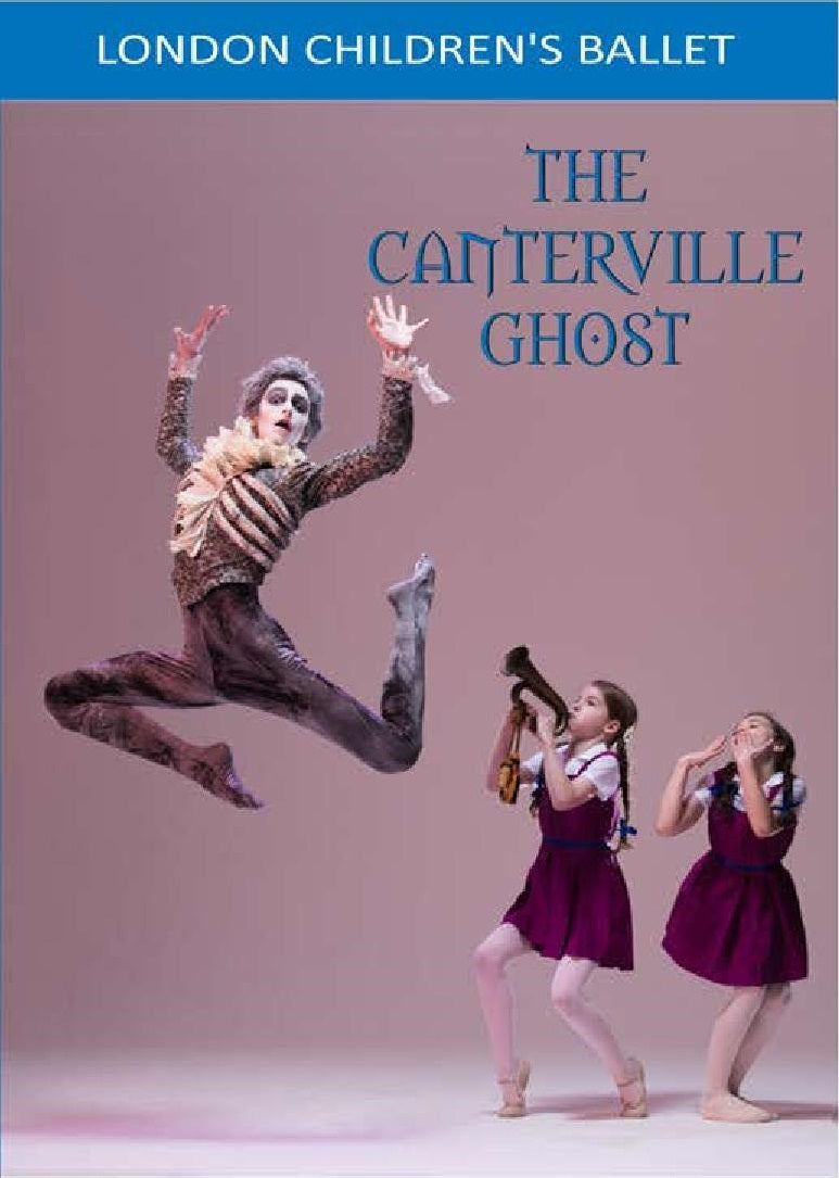 The Canterville Ghost (2018) DVD