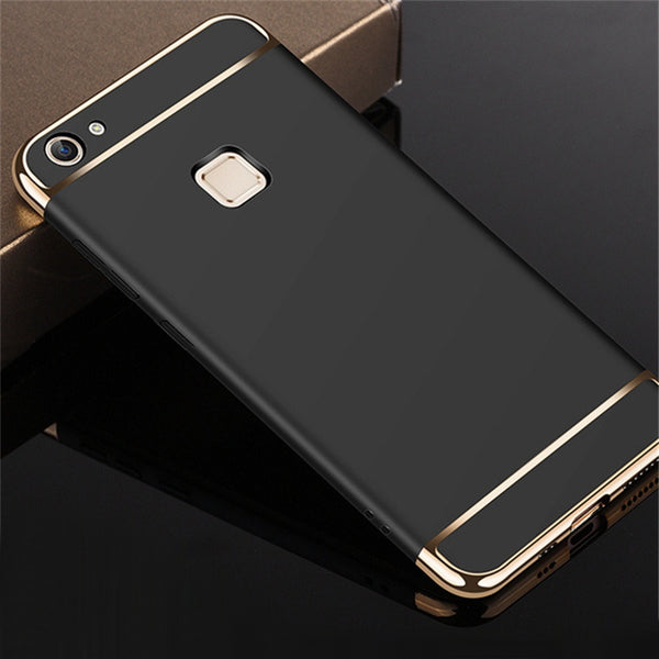 Vivo V7 Metal Plating Premium Hard Cover