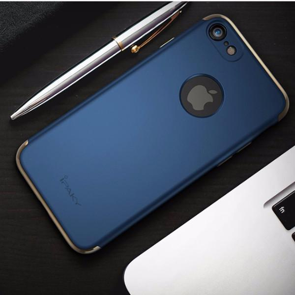 Luxury Electroplating 3 in 1 Case for iPhone 7, 7 Plus