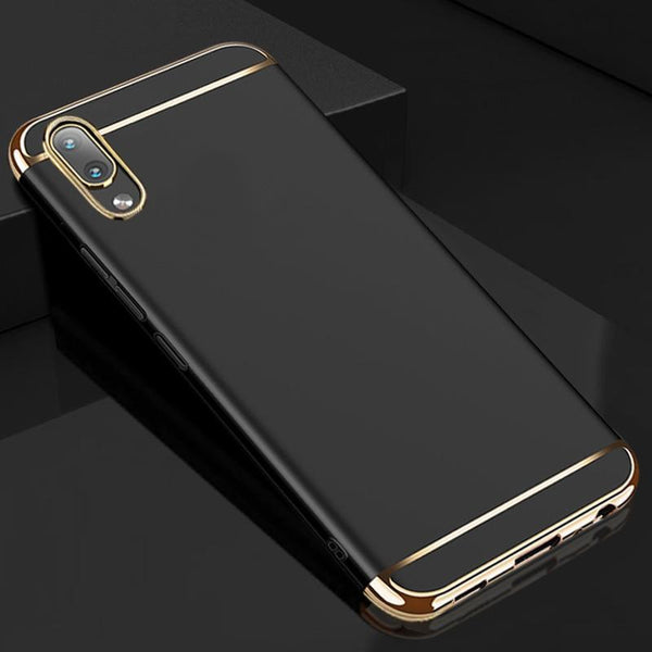 Vivo V11 Pro Luxury Electroplating 3 in 1 Matte Finish Case