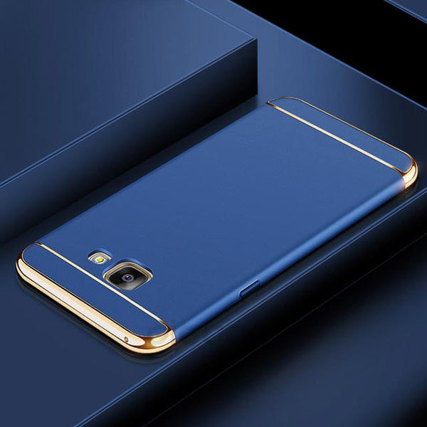 Galaxy J7 Prime Luxury 3 in 1 Electroplating Back Case