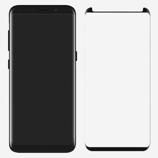 Galaxy S8/S8 Plus 4D Cut Tempered Glass