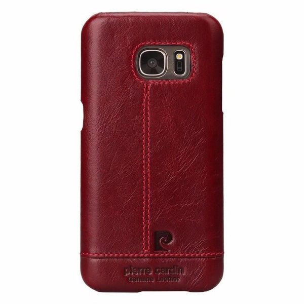 Galaxy S7 Edge Genuine Leather Back Case