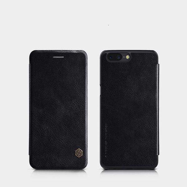OnePlus 5 Nillkin Genuine Leather Flip Case