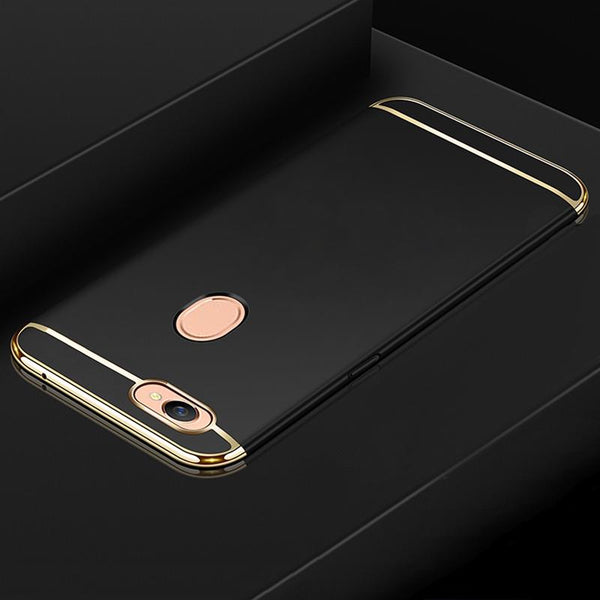 Oppo F7 Luxury 3 in 1 Electroplating Matte Case