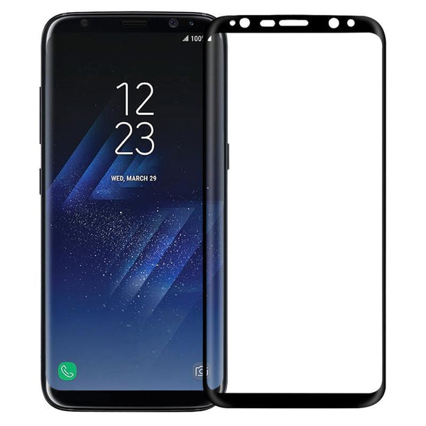 Galaxy S8/S8 Plus 5D Curved Edge Tempered Glass