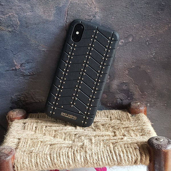 iPhone X Premium Business PU Leather Case