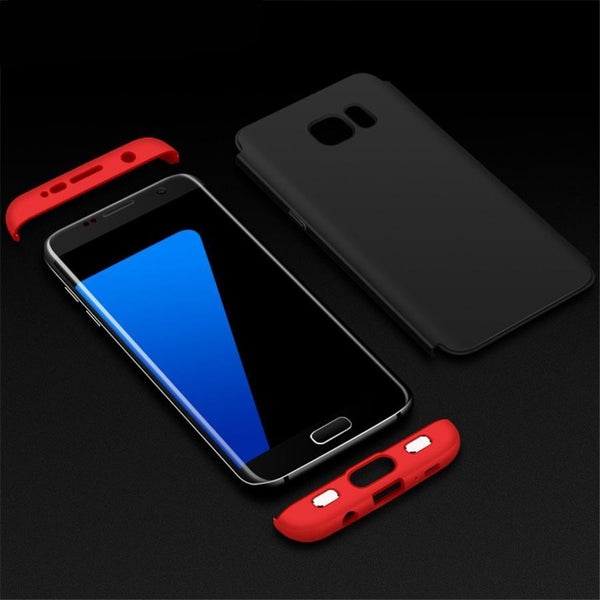 Galaxy S7 Edge 360 Protection Hard Shockproof Case