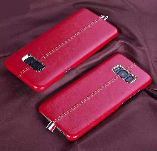 Galaxy S8/S8 Plus Original PU Leather Business Case