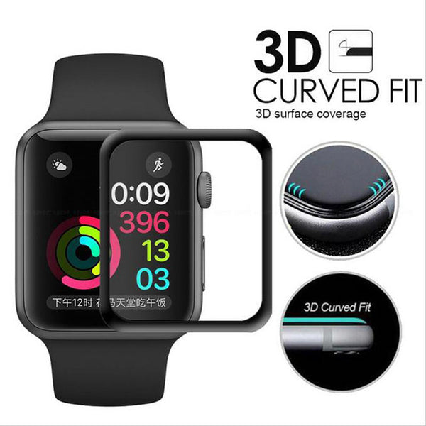 Apple Watch 9H Tempered Glass Screen Protector (WATCH NOT INCLUDED)