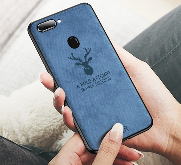 Oppo F9 Pro Deer Pattern Inspirational Soft Case