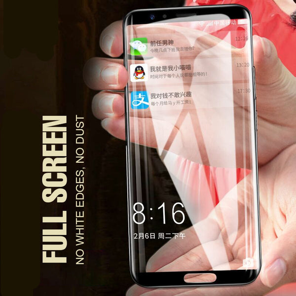 Galaxy C9 Pro Full Screen 5D Protection Tempered Glass