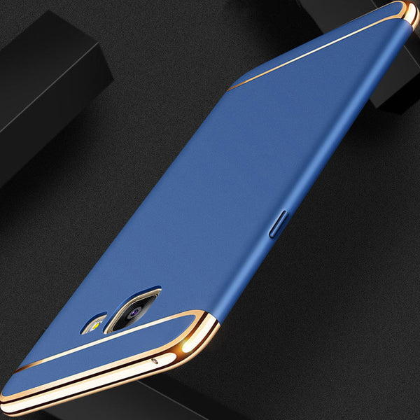 Galaxy J7 Max Luxury Electroplating Matte Finish Case