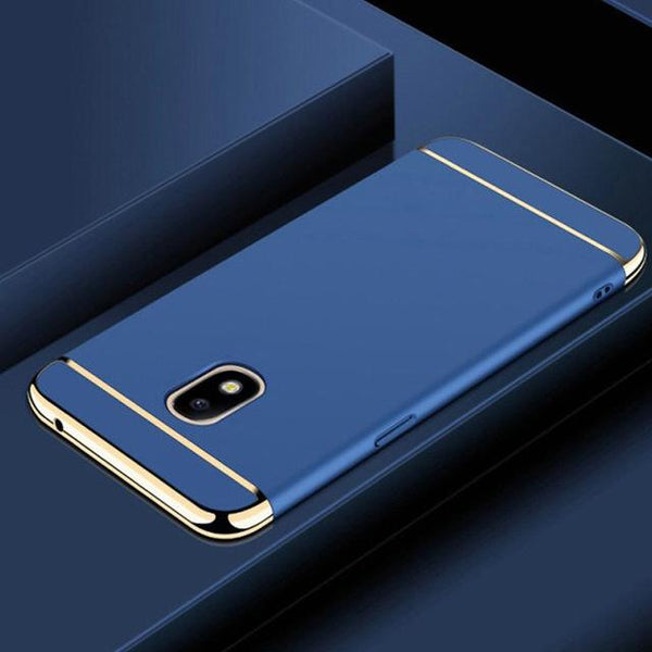 Galaxy J7 Pro Luxury 3 in 1 Electroplating Back Case