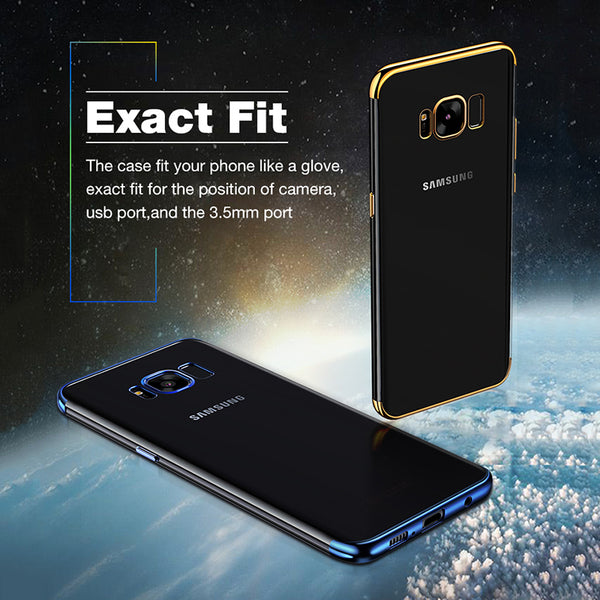 Galaxy S8/S8 Plus Premium Electroplating Glitter Hard Case