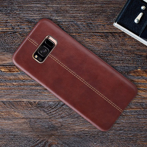 Galaxy S8/S8 Premium Vintage PU Leather Case