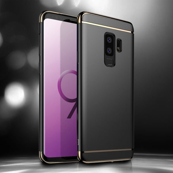 Galaxy S9/S9 Plus Luxury Electroplating Matte Finish Case