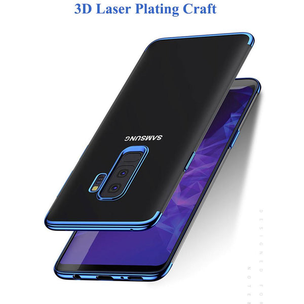 Galaxy S9/S9 Plus Glitter Series Transparent Ultra-thin Case