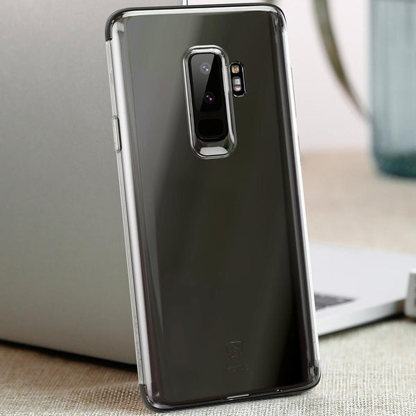 Galaxy S9 Plus Anti Knock TPU Transparent Case