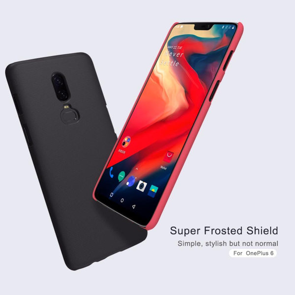 Nillkin ® Oneplus 6 Super Frosted Shield Back Case