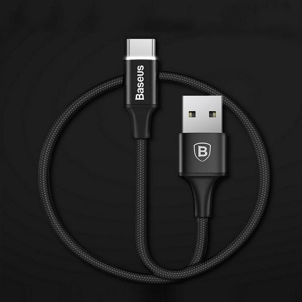 Baseus ® LED Light Type-C Fast Charge USB Cable