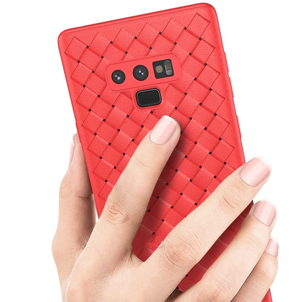 Galaxy Note 9 Ultra-thin Grid Weaving Case