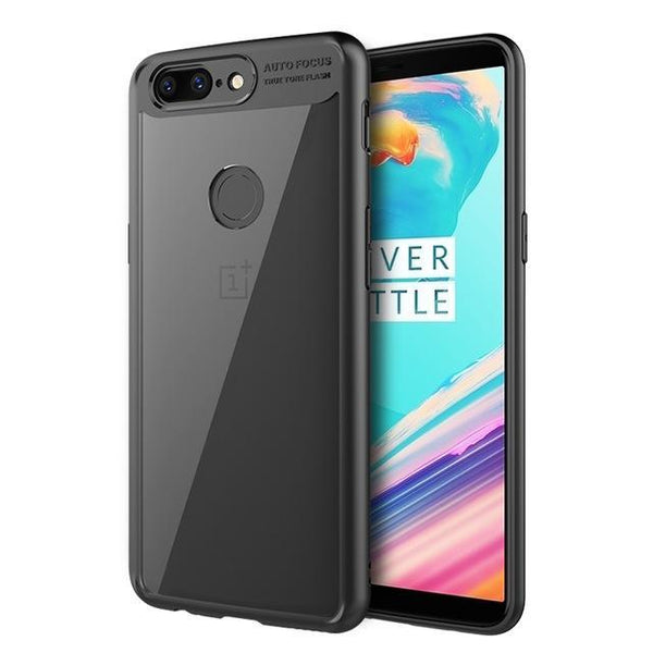 OnePlus 5T Silicone Autofocus Clear Back