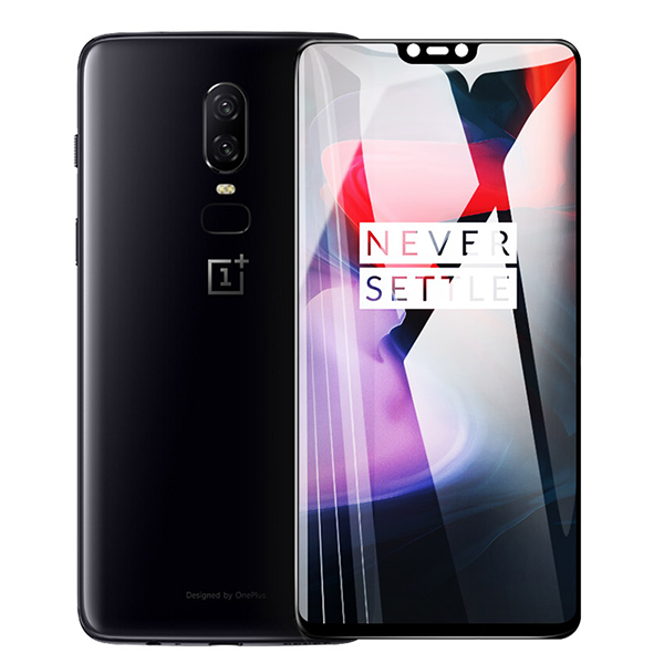 OnePlus 6 5D Tempered Glass Screen Protector [100% Original]