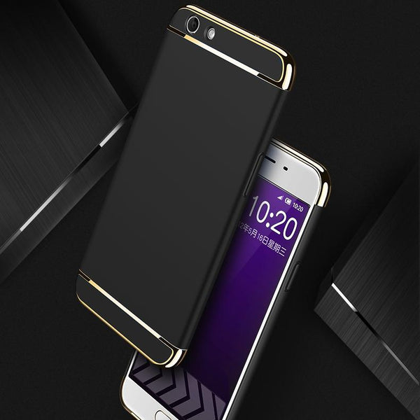 Oppo F1S Luxury Electroplating Matte Back Case
