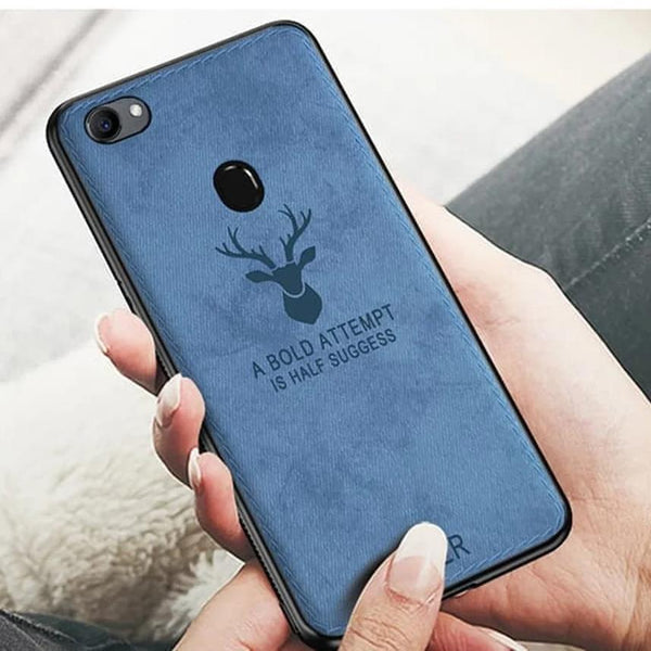 Oppo F7 Deer Pattern Inspirational Soft Case