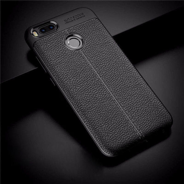 Redmi Mi A1 Auto Focus Premium Texture Leather Cover