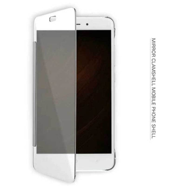 Redmi Note 4 Mirror Clear View Flip Cover