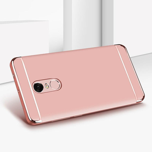 Redmi Note 4 Electroplating Hard Plastic Cover