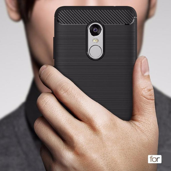 Redmi Note 4 Ultra-thin Carbon Fiber Cover