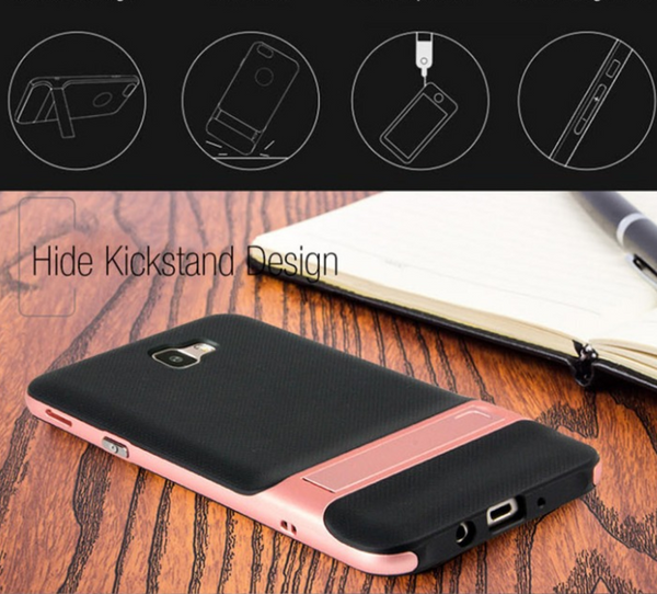 Galaxy J7 Prime Royce Kickstand Back Cover