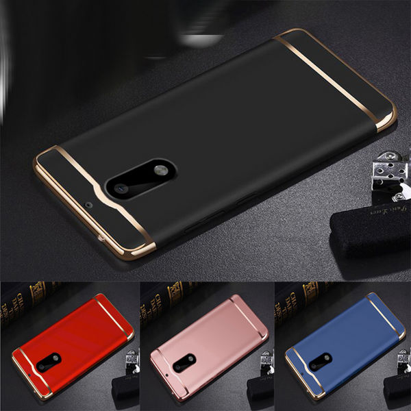 Nokia 6 2017 Luxury Electroplating Matte Finish Cover