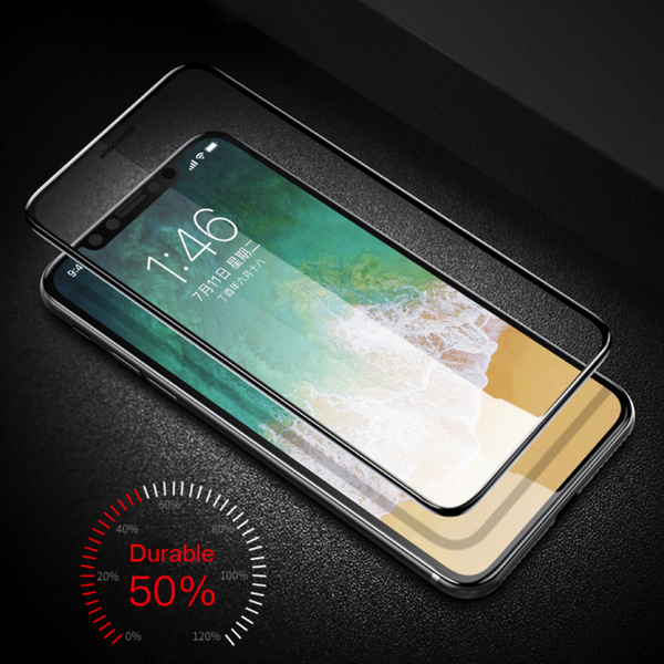 iPhone X Original 4D Dust Proof Tempered Glass