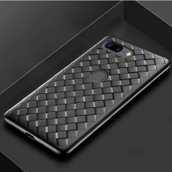 OnePlus 5T Ultra-thin Grid Weaving Case