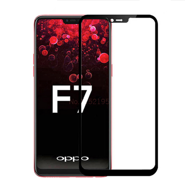 Oppo F7 5D Tempered Glass Screen Protector
