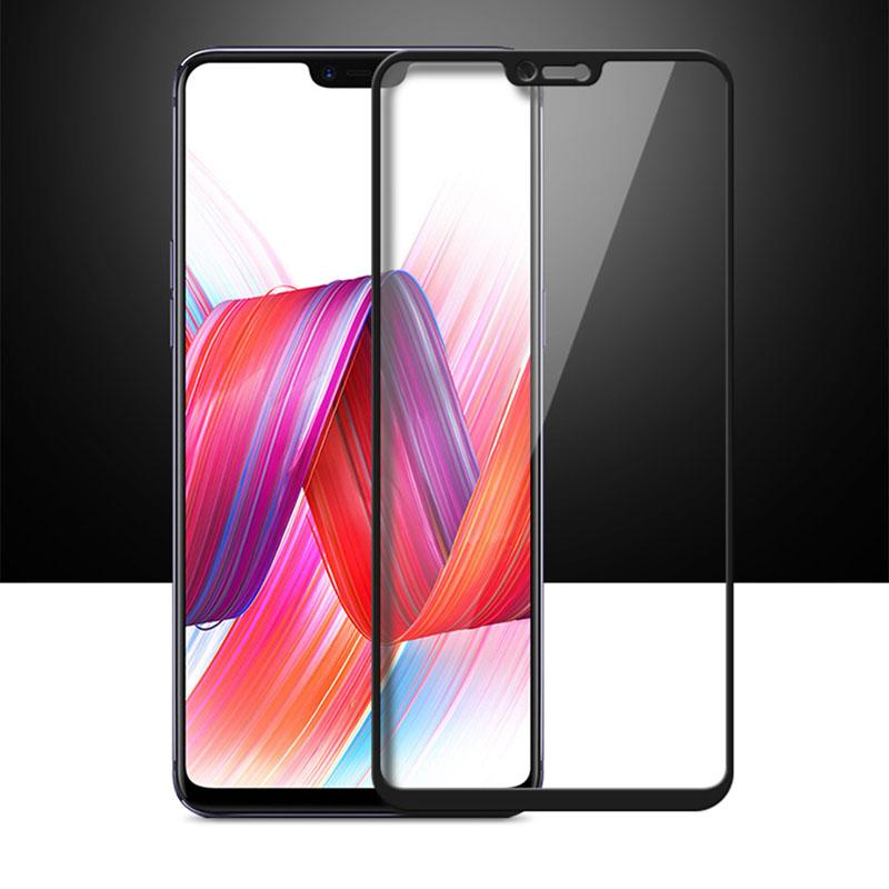 Vivo V9 5d Tempered Glass Screen Protector Peeperly India