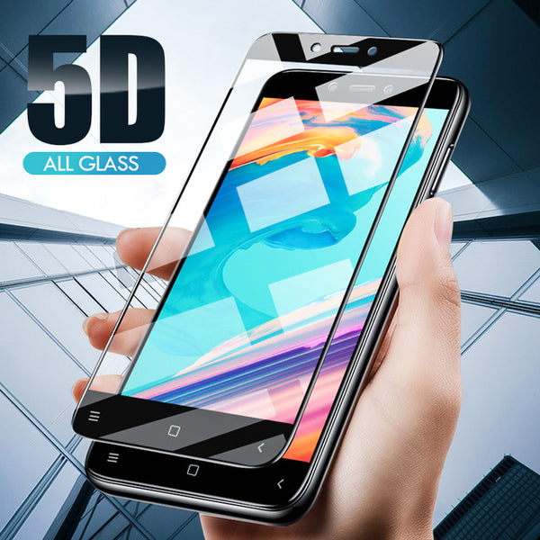 Xiaomi Mi A1 Curved Edge 5D Tempered Glass