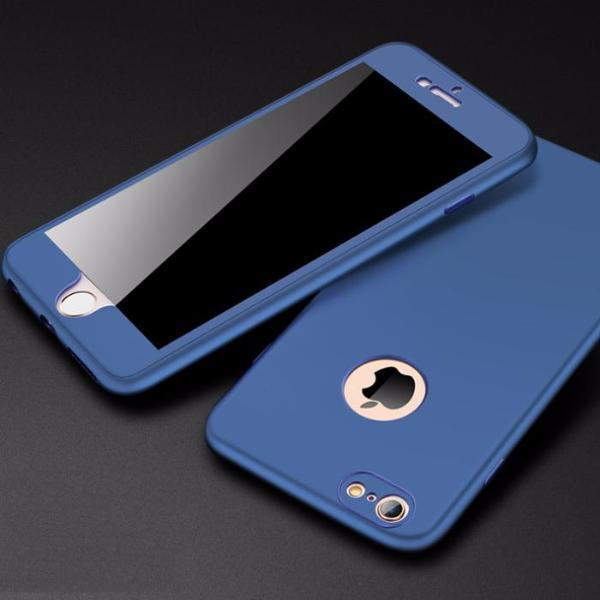 iPhone 6/6S 360 Protection Soft TPU Silicone Case