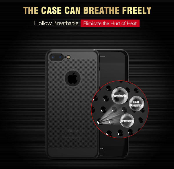 Original Breathing Series Ultra-thin Case for iPhone 7, 7 Plus