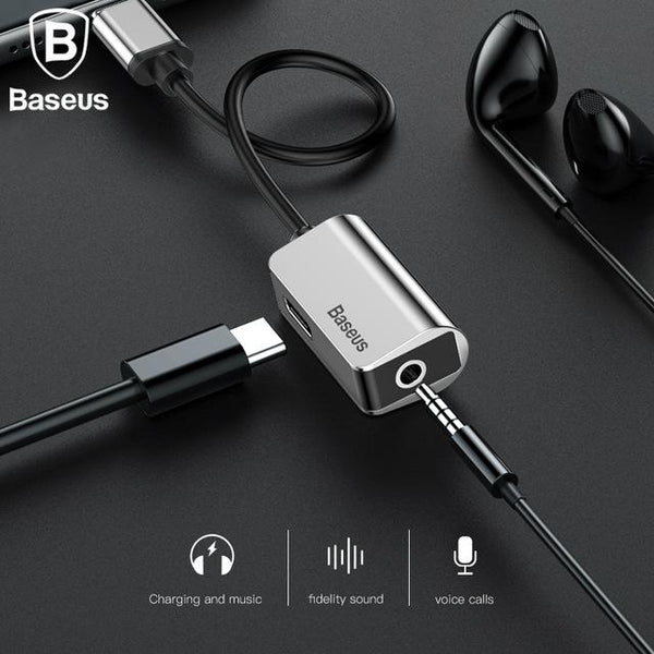 Baseus Original iPhone Earphone Cable Splitter