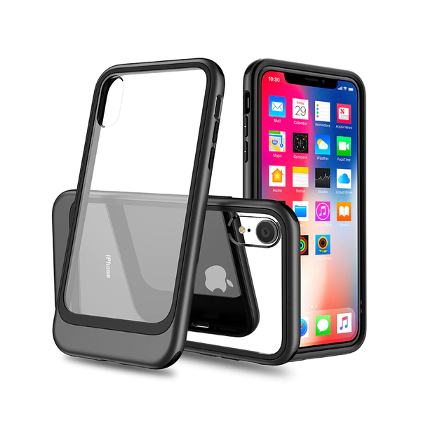 iPhone XR Clear Hybrid Shockproof Back Case