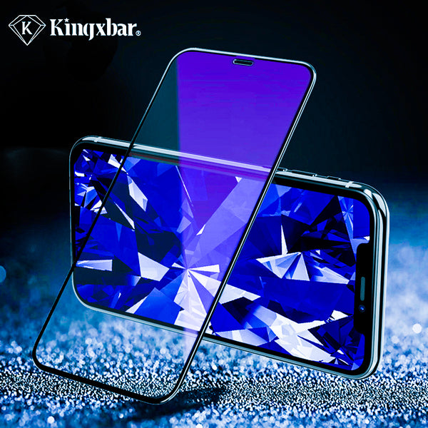 Kingxbar ® iPhone XS Max Green Gem HD Tempered Glass